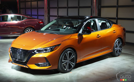 Los Angeles 2019: An All-New Nissan Sentra for 2020